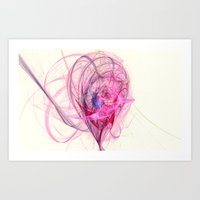 Spinning Top Nebula  Art Print