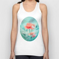 Fantasy Garden - Poppy Dream  Unisex Tank Top