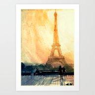 Art Print featuring Paris by Takmaj