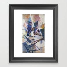 Customers Framed Art Print