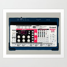 Roland Phrase Lab MC-09 Art Print