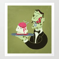Brain Food Art Print