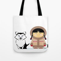 Little Inuit Tote Bag