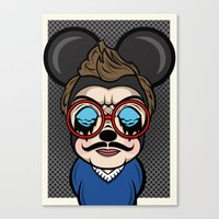 Mickey Boy Canvas Print