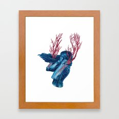 Her Arms Became Trees Framed Art Print