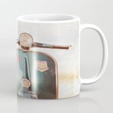 The Blue Vespa Mug