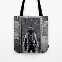 The man from earth Tote Bag