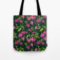 April Blooms(Fuchsia)  Tote Bag