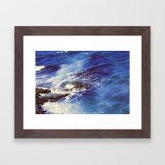 Mediterranean sea  Framed Art Print
