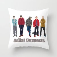 The Usual Suspect Casual… Throw Pillow