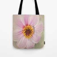 Vintage Flower Tote Bag