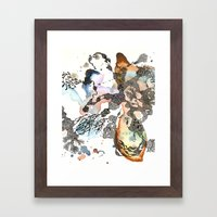 Is That A Sea Plant Or A… Framed Art Print