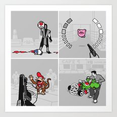 Good Guys In Bad Games Art Print