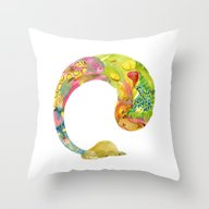 Throw Pillow featuring Alpaca Dream #1 by Overture