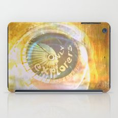 EXPLORERS ONLY / The Biggest Spatial Eye / 26-08-16 iPad Case