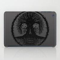 romkalah, black iPad Case