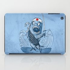 Samurai sushi iPad Case