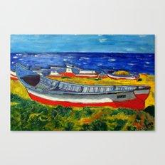 Flota de Coquimbo Canvas Print