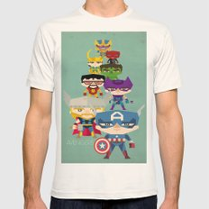 avengers 2 fan art Mens Fitted Tee Natural SMALL