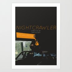 NIGHTCRAWLER Art Print