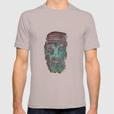 FisherMan Mens Fitted Tee Cinder SMALL