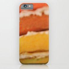 rainbow cake iPhone 6 Slim Case