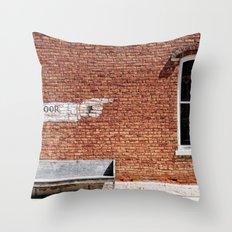 NO.... Window! Throw Pillow