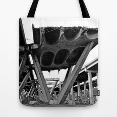 Deconstruction time Tote Bag