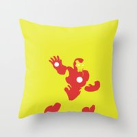 Man-Made Machines Throw Pillow