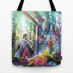 Rainbow Shrine Tote Bag