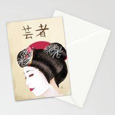 Geisha - Painting Stationery Cards