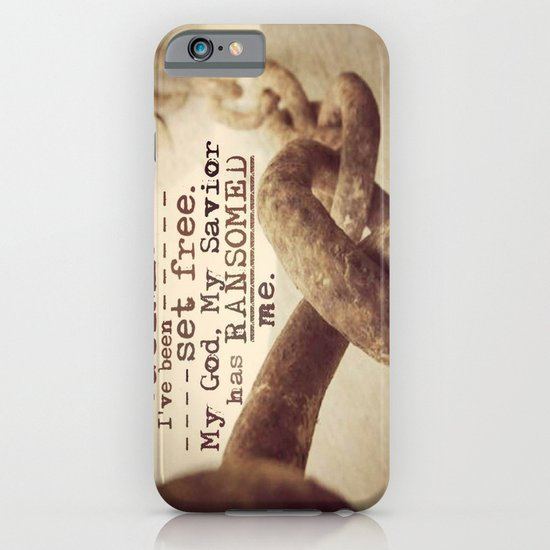 Chains are gone iPhone & iPod Case