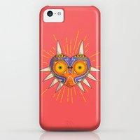 iPhone 5c Cases featuring Majora's Mask | LoZ by Daniel Mackey