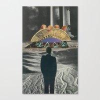 Strange Cities: The Bavarian's Dream Canvas Print