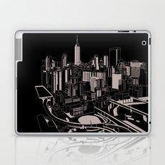 New York Black and White Laptop & iPad Skin