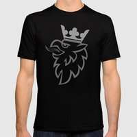 Griffin Mens Fitted Tee Black SMALL