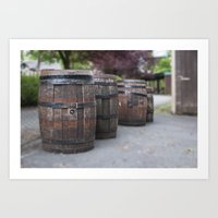 Barrel Of Fun Art Print