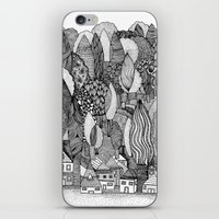 Mysterious Village iPhone & iPod Skin