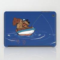Bear Fishing iPad Case