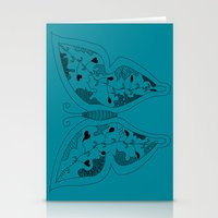 Butterfly Of The Day Stationery Cards