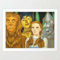 Dorothy's Crew Art Print
