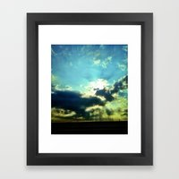 Florida Sunset Framed Art Print