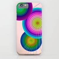 iPhone & iPod Case featuring Circles #3 by Alexis Kadonsky