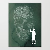 Equation Canvas Print