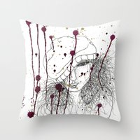 KILLA Throw Pillow