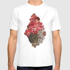 Solid things 6 White SMALL Mens Fitted Tee