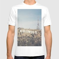 Hike to the Sign Mens Fitted Tee White SMALL