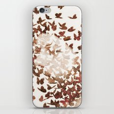 Butterfly People 3 iPhone & iPod Skin