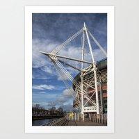 Millenium Stadium, Cardi… Art Print