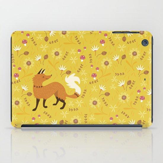 Cute as a Fox iPad Case